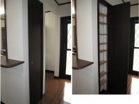 キッチン脇の収納スペース