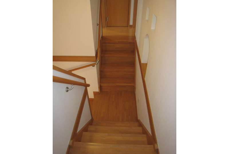 2階への上がり口