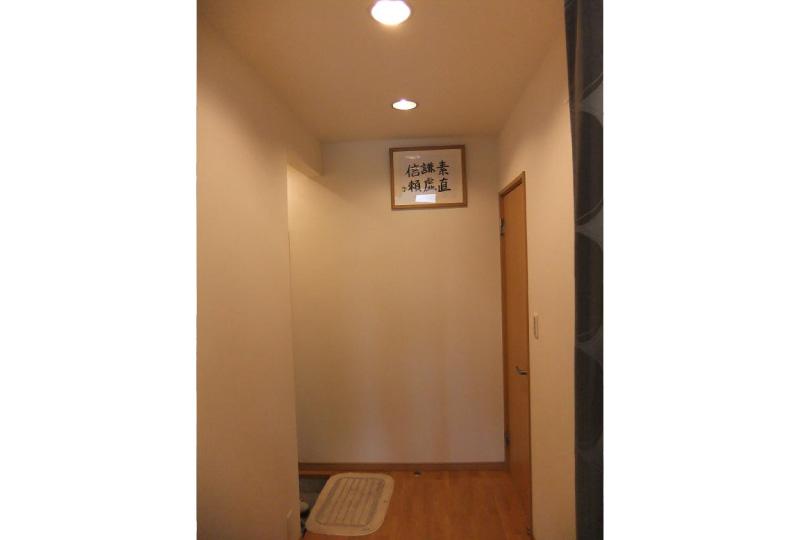 自宅玄関スペース