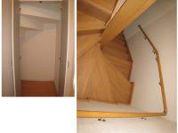 階段と階段下収納