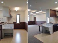 3階 食堂、娯楽スペース