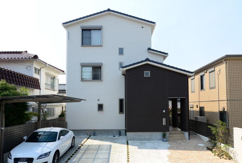 ペットと暮らす家(3階建て)施工事例